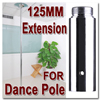 Exotic Stripper Dancing Pole Dance Pole Extension 125mm