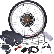 48v 1000w 26 Inch Rear Wheel Bicycle Motor Conversion Kit
