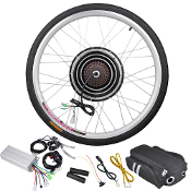 36v 500w 26 Inch Rear Wheel Electric Bicycle Motor Conversion Ki