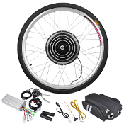 48v 1000w 26 Inch Front Wheel Electric Bicycle Motor Conversion
