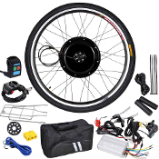 48v 1000W 26in Front Electric Bicycle Engine Kit Motor Conversio