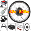 48v 800w 26in Front Wheel Electric Bicycle Motor Conversion Kit