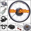 "36v 500w 26"" Front Wheel Electric Bicycle Motor Conversion Kit"
