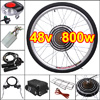 48v 800w 26in Rear Wheel Electric Bicycle Motor Conversion Kit